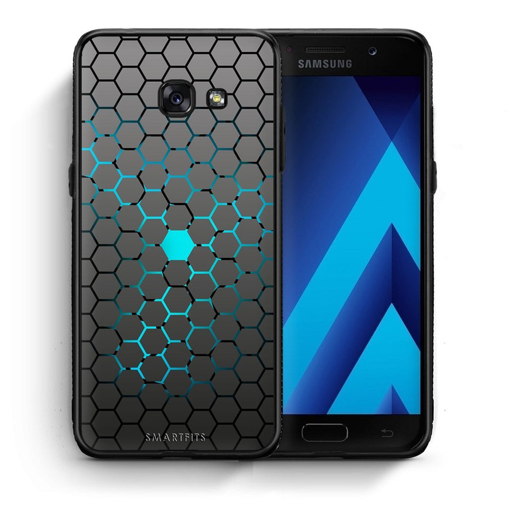 40 - Samsung A3 2017 Hexagonal Geometric case, cover, bumper