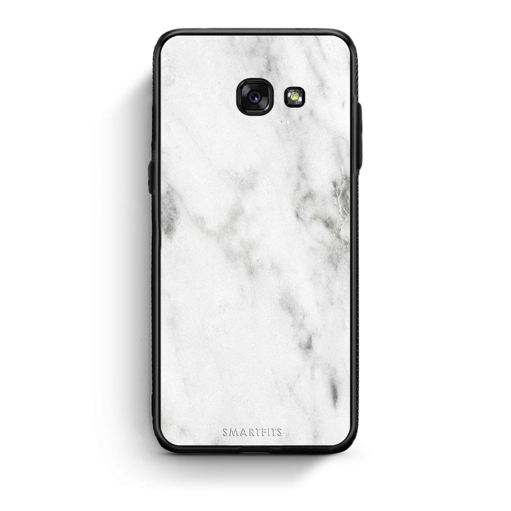 2 - Samsung A3 2017 White marble case, cover, bumper