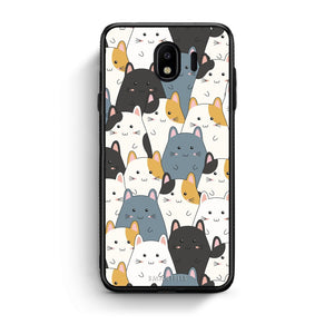 4 - Samsung J4 Kitten Cute case, cover, bumper