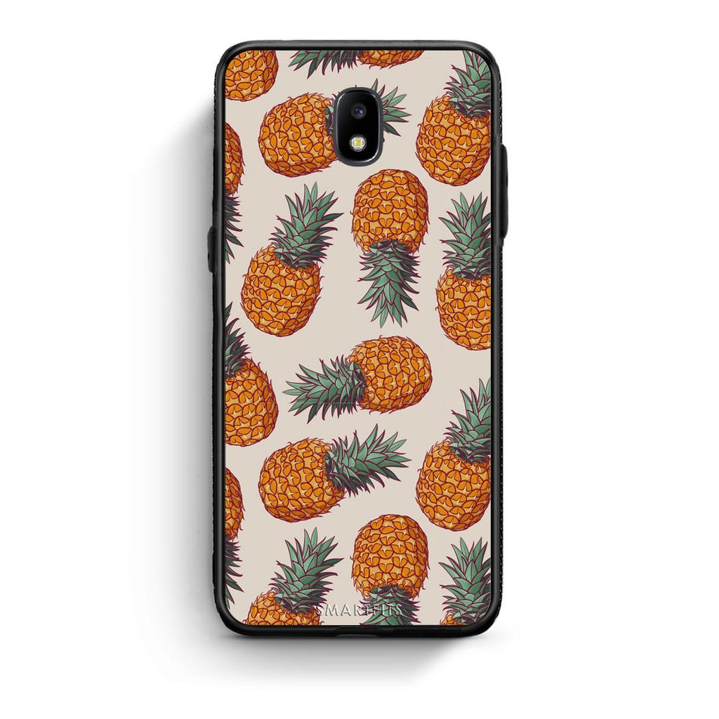 99 - Samsung J5 2017 Summer Real Pineapples case, cover, bumper