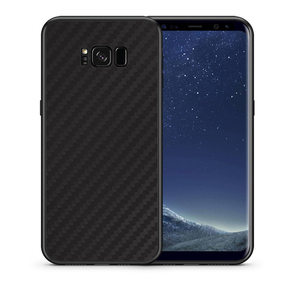 0 - samsung galaxy s8 plus Black Carbon case, cover, bumper