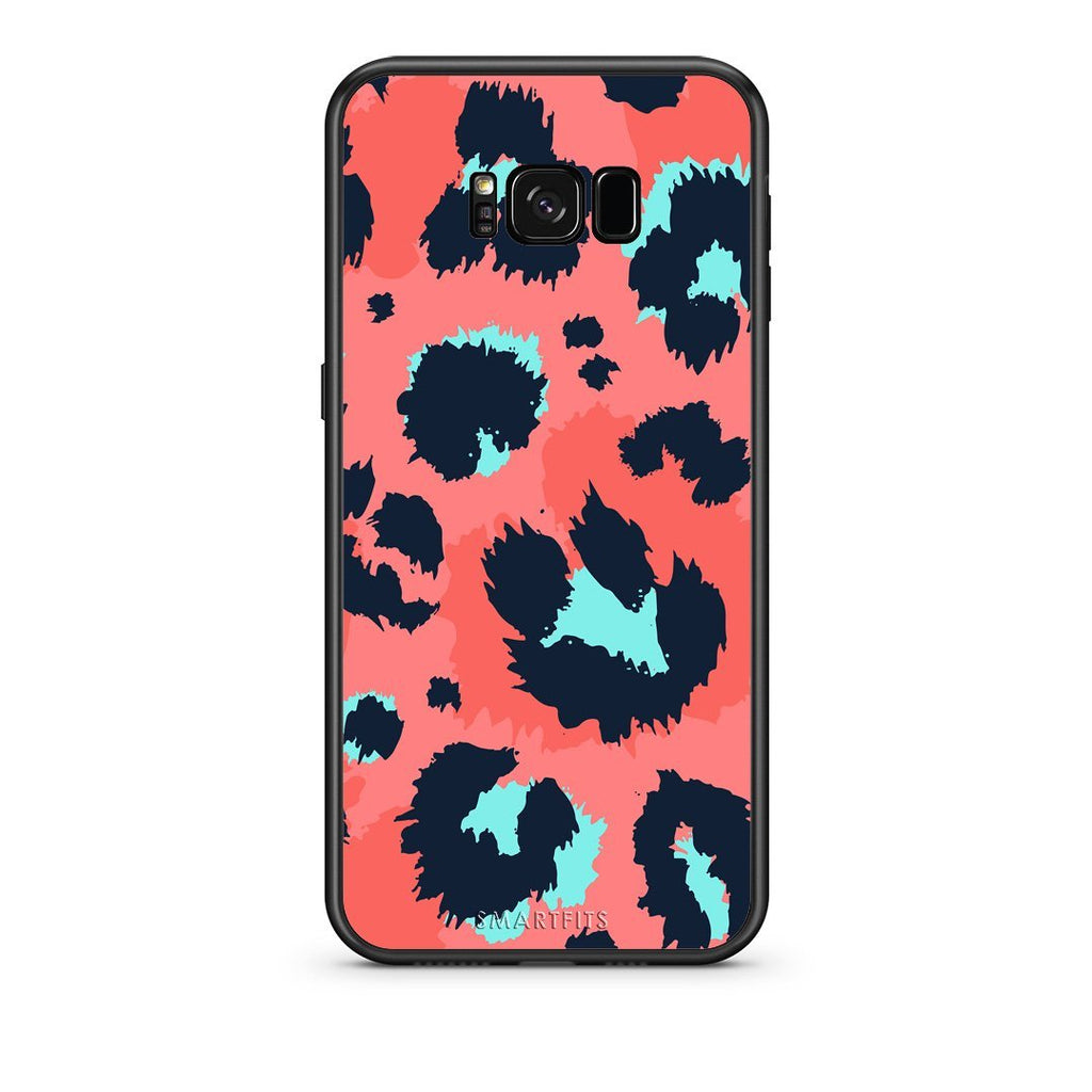 22 - samsung galaxy s8 plus Pink Leopard Animal case, cover, bumper