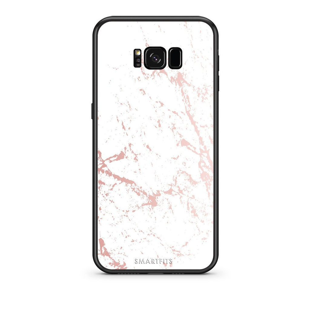 116 - samsung galaxy s8 plus Pink Splash Marble case, cover, bumper