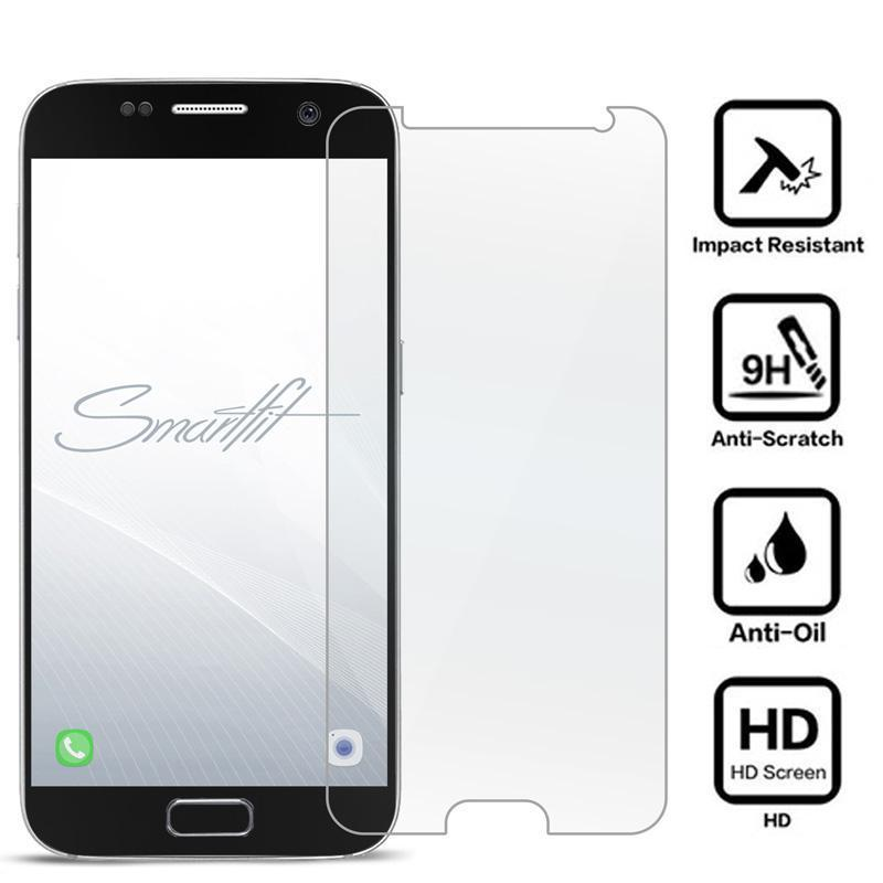 Premium Tempered Glass-Screen Protector for Samsung S7