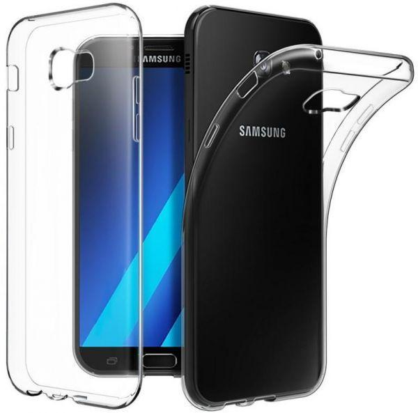 Transparent Gel Case for Samsung A7 2018