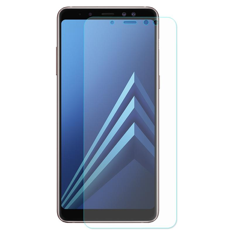 Premium Tempered Glass-Screen Protector for Samsung A8