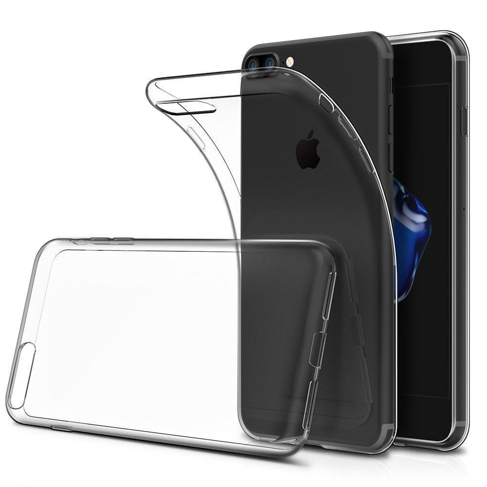 Transparent Gel Case for iPhone 7 Plus/8 Plus
