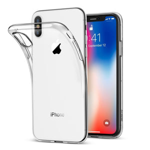 Transparent Gel Case for iPhone Xs