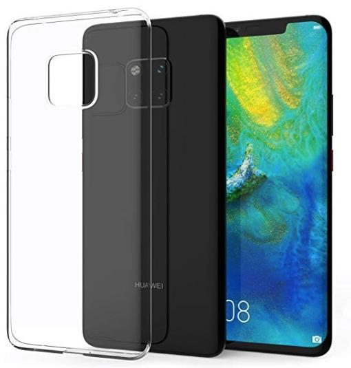 Transparent Gel Case for Huawei Mate 20 Pro