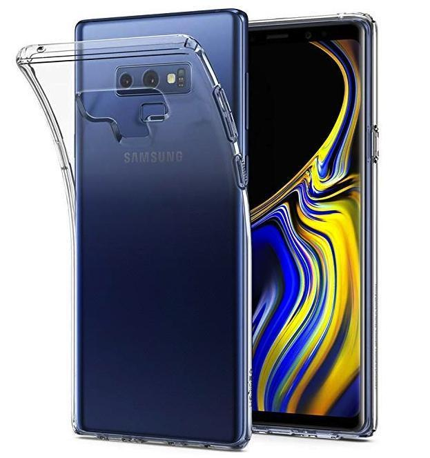 Transparent Gel Case for Samsung Note 9