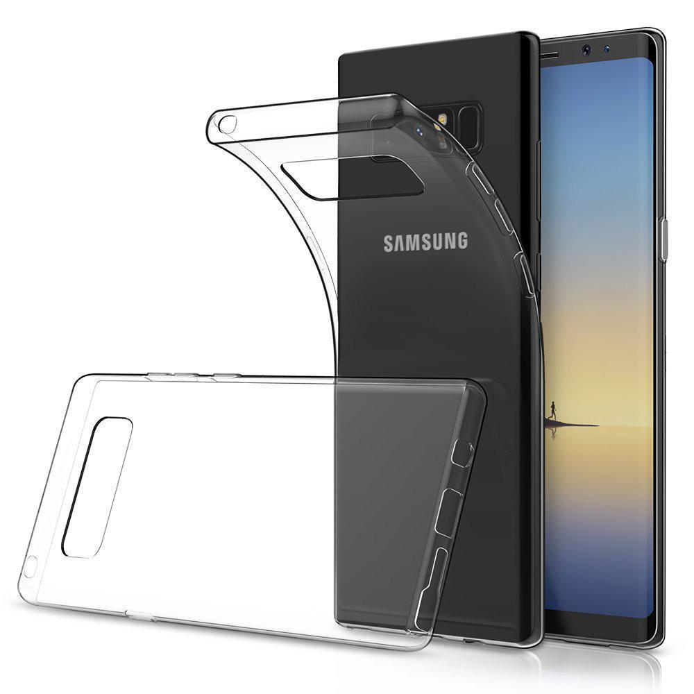 Transparent Gel Case for Samsung Note 8