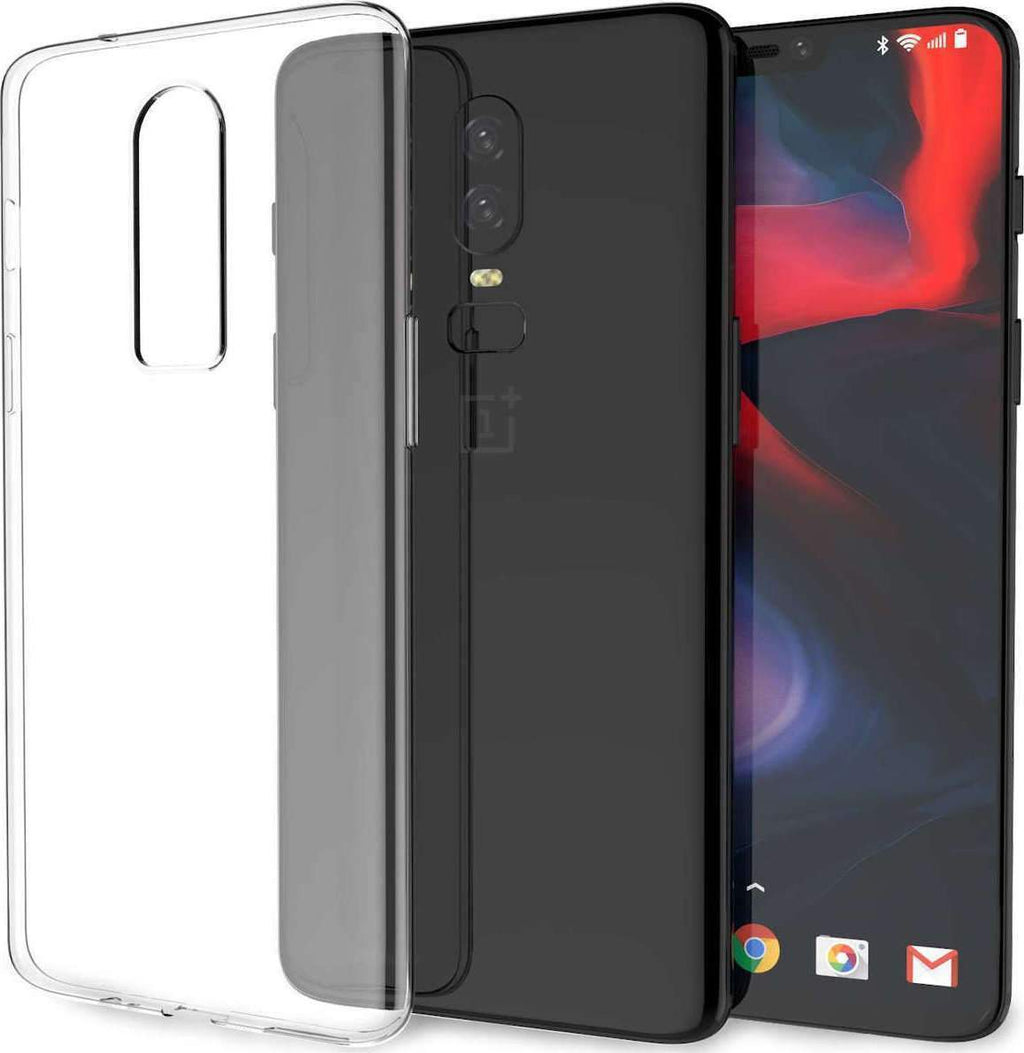 Transparent Gel Case for OnePlus 6T