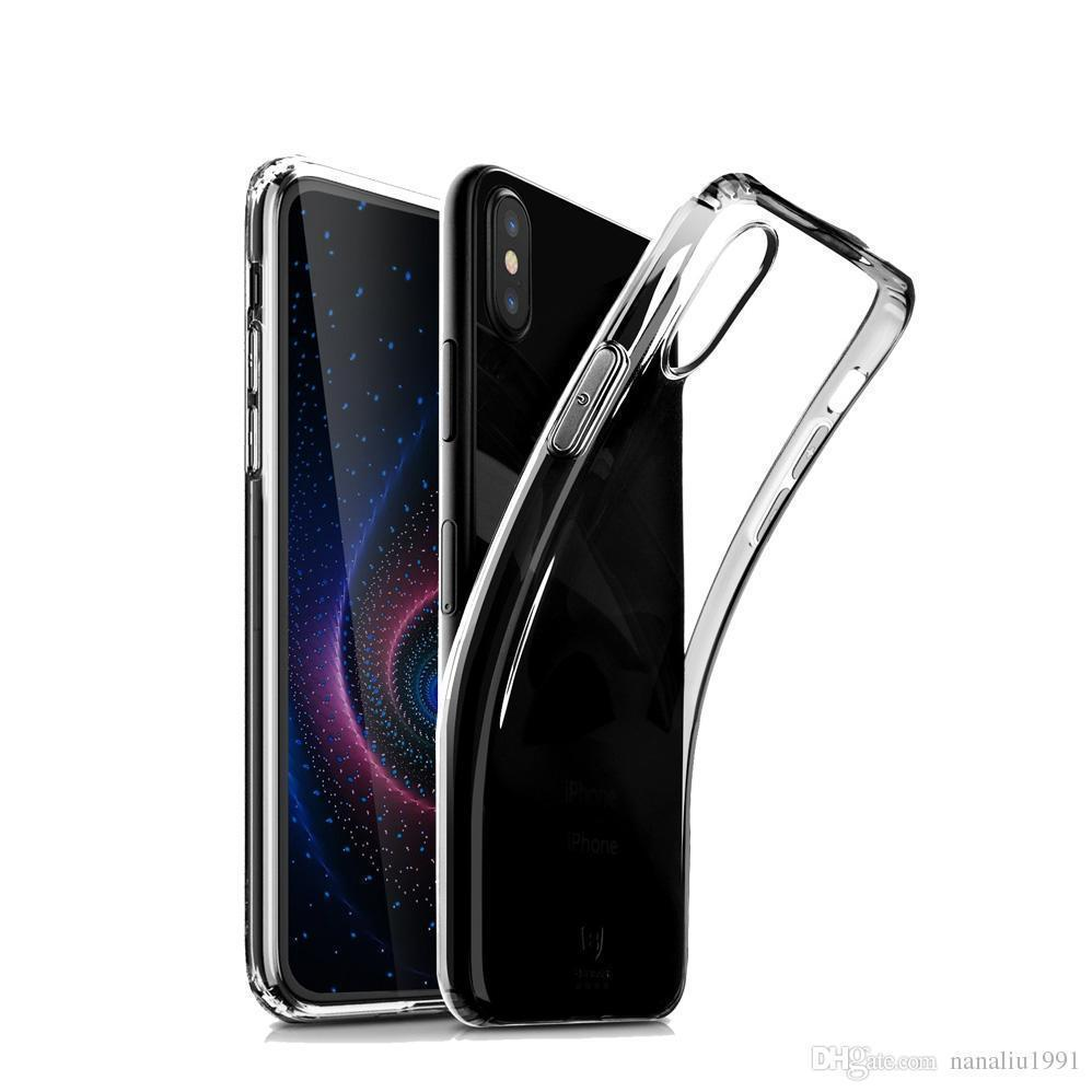 Transparent Gel Case for Huawei P20 Lite