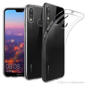 Transparent Gel Case for Huawei P20 Pro