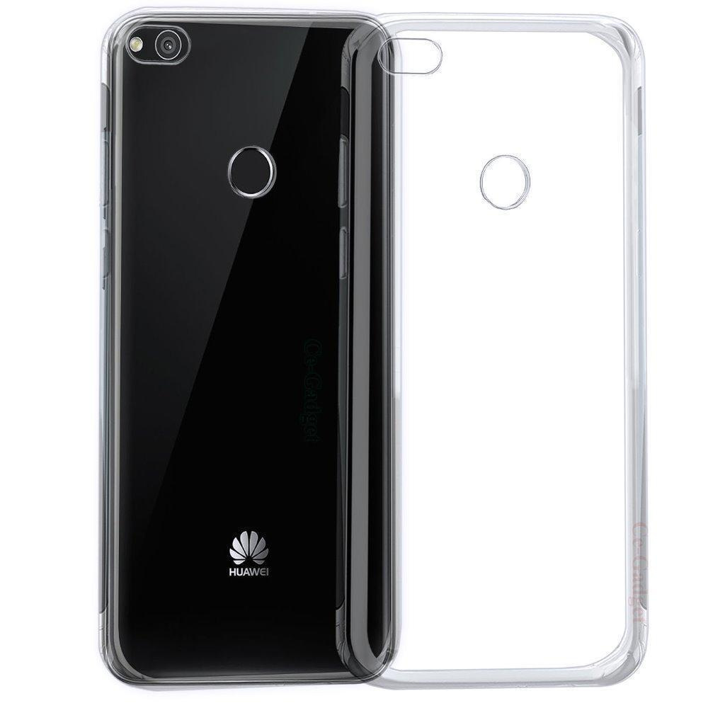 Transparent Gel Case for Huawei P8/P9 Lite 2017