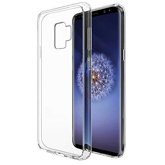 Transparent Gel Case for Samsung S9