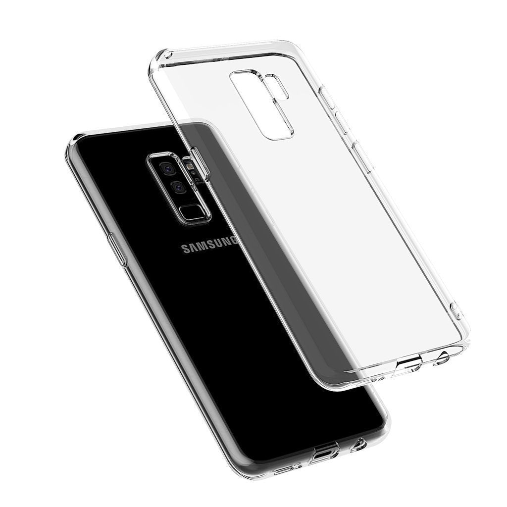 Transparent Gel Case for Samsung S9 Plus