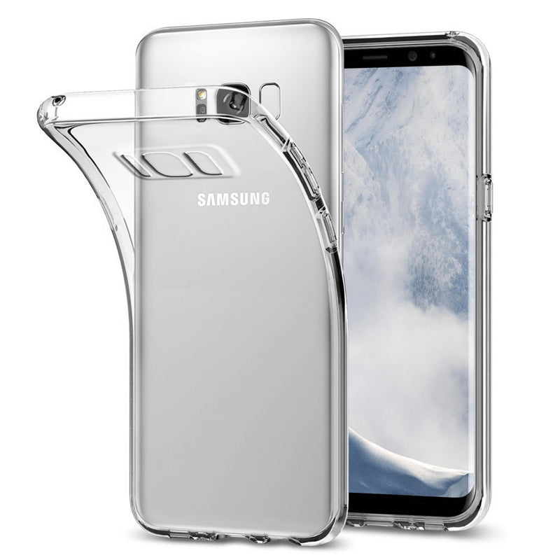 Transparent Gel Case for Samsung S8 Plus