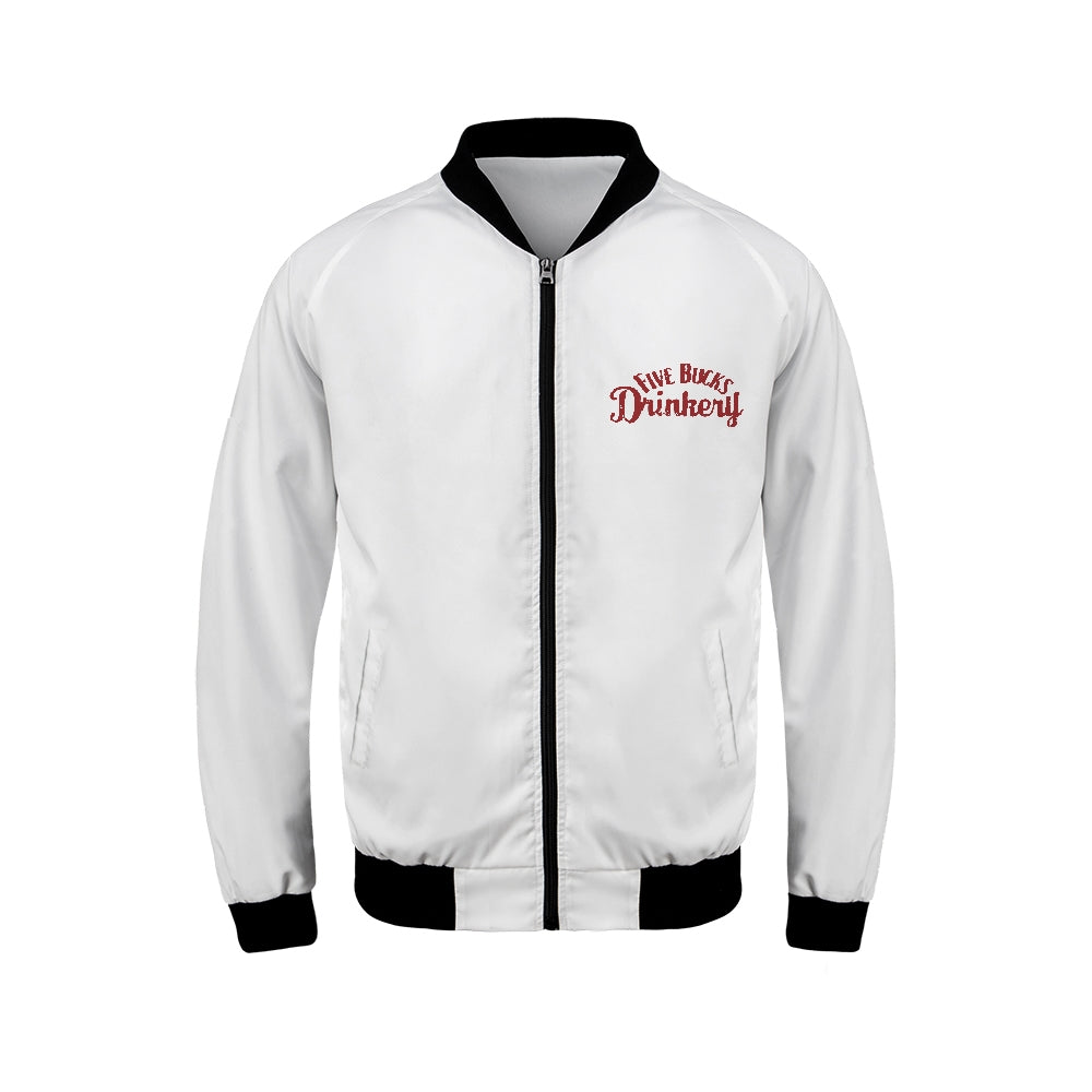 FIVE BUCKS DRINKERY BOMBER JACKET