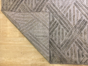 "5'3"" x 7'4"" Bohemian Kilim Area Rug Handwoven criss-cross Grey Rug , Unique Handmade Kilim rug Home decor with free shipping R7514"