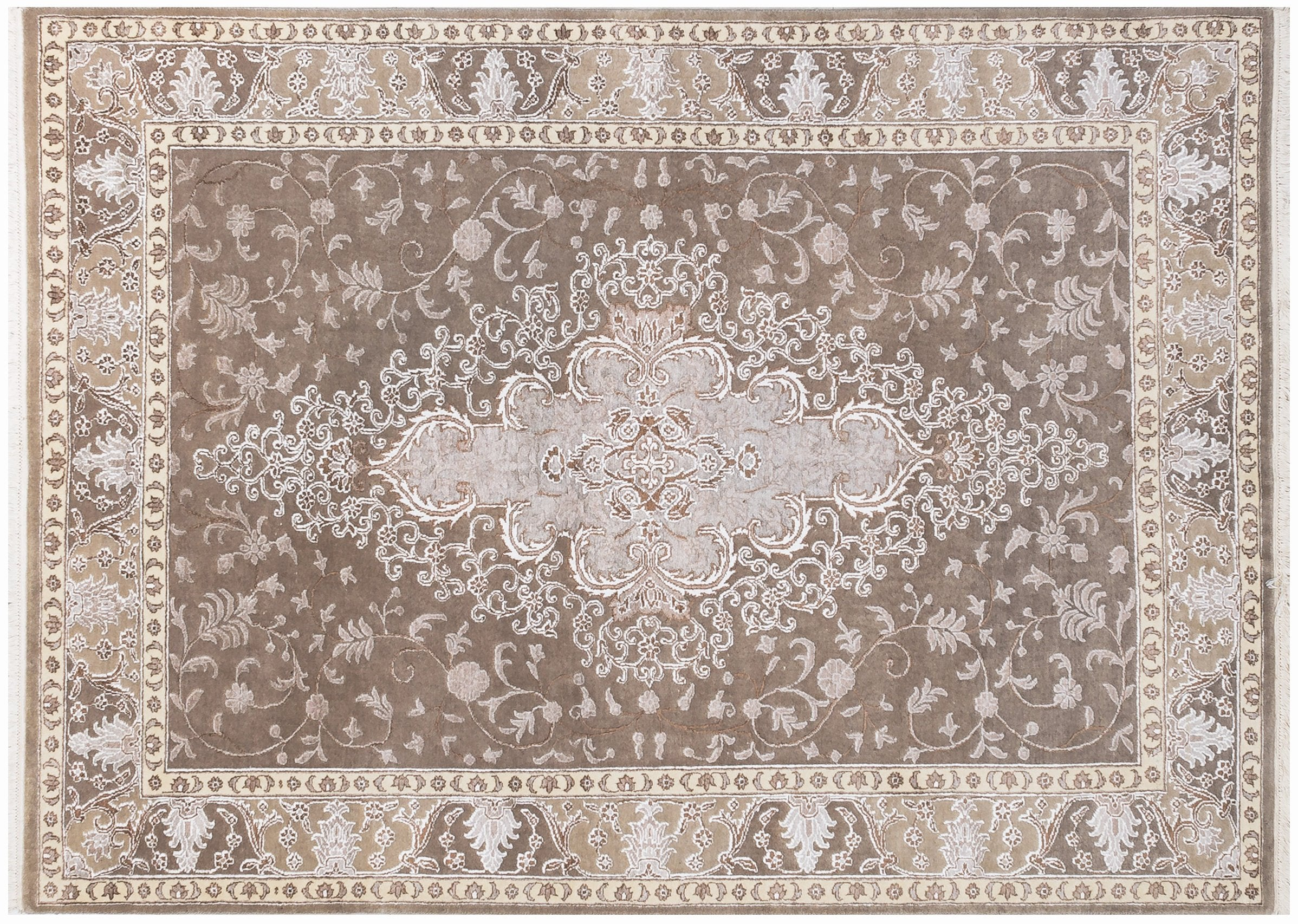 "Persian Floral Bohemian rug,Christmas Handmade Rug , Wool Kitchen Decor Area Rug, Antique design Oriental persian Rug  5'4"" X 7'8"" R8428"