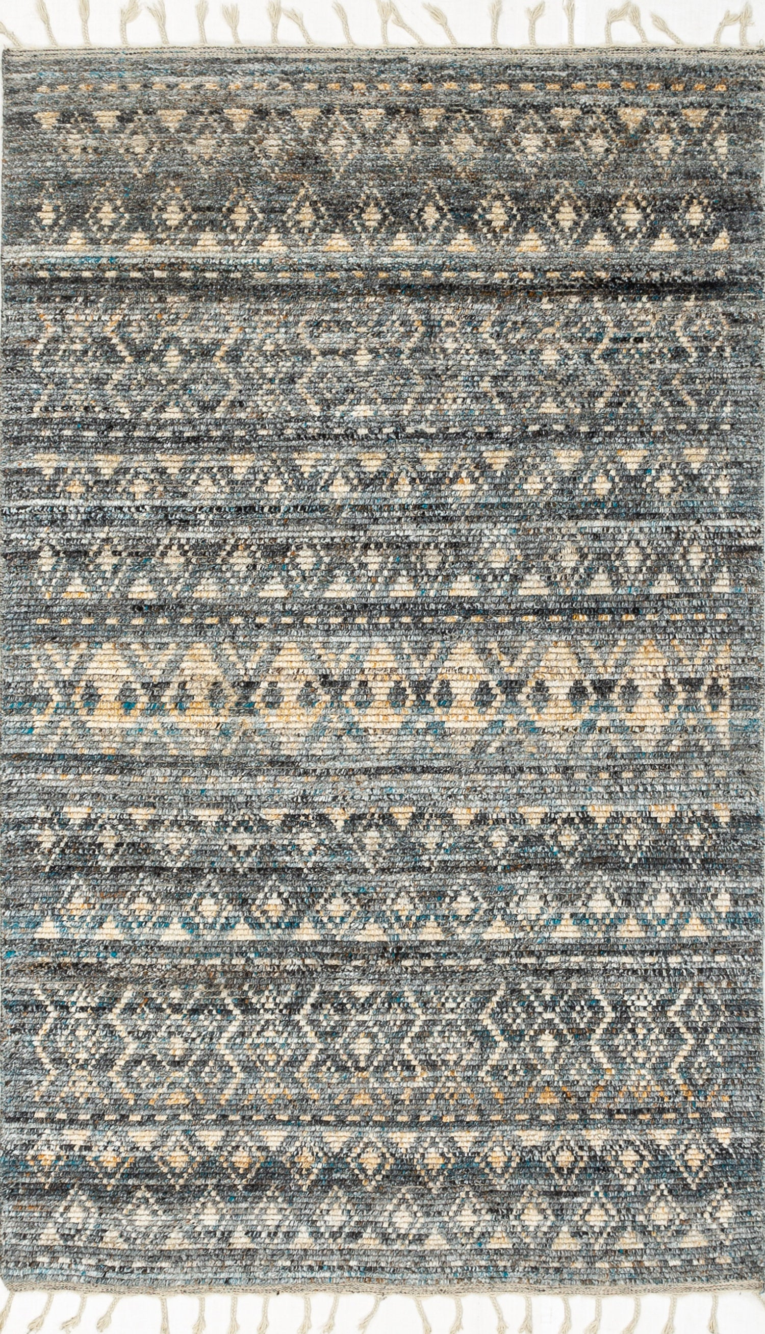 "Kilim Geometric Design Rug, Tribal Rug Living Room Decor, turkish teppich Kitchen Wool Rug Oriental Hand knotted Area Rug 5'3"" x 7'6""  SP594"
