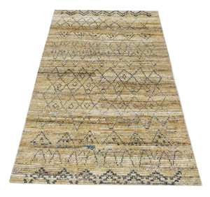 "Turkish Kilim Geometric Design Rug, Tribal Rug Living Room Decor, teppich Kitchen Wool Rug Oriental Hand knotted Area Rug 5'3"" x 7'6""  SP600"