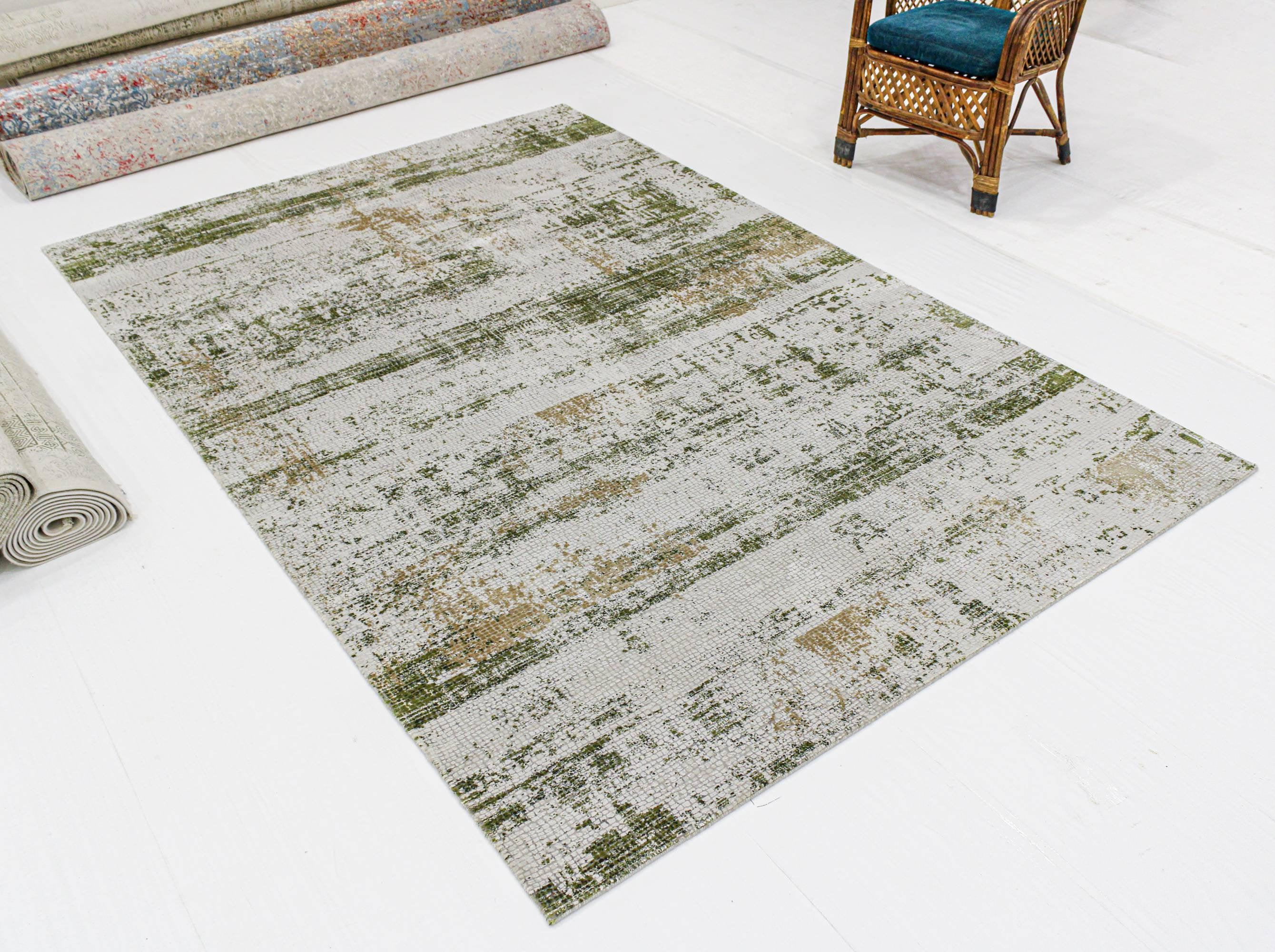 "Faded Over Dyed Persian Area Rug , Pastel Color ,Vintage Persian , Turkish carpet , modern design teppich , moroccan ,9'9"" X 13'3"" SKU:1918"