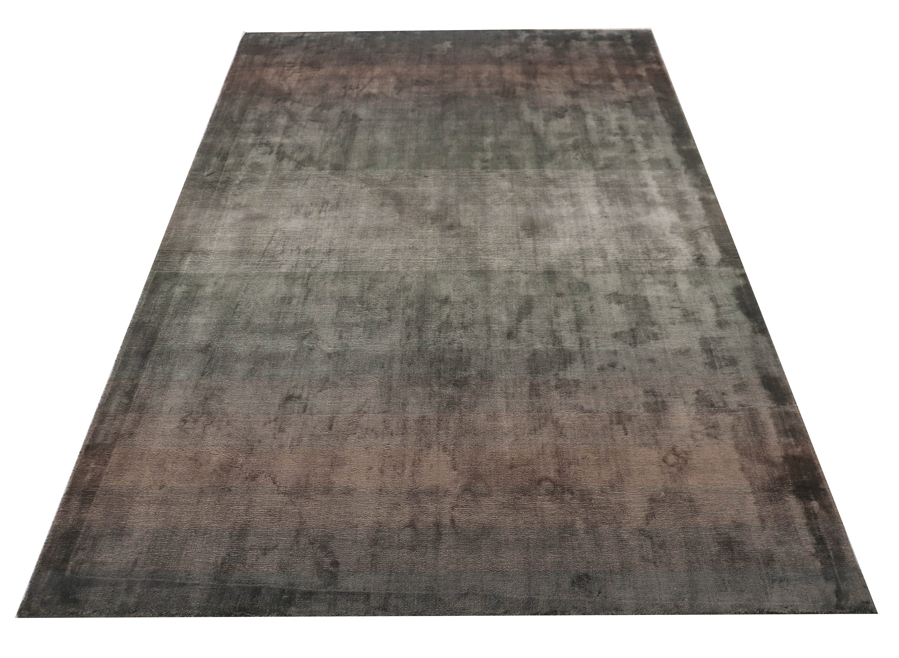 Shades of Brown Synthetic Wool trippy Area Rug Oriental Living Room 5x7 Rug  ≡Rustic antique Decor ≡ Office Rug ≡ Turkish Faded Rug  60729