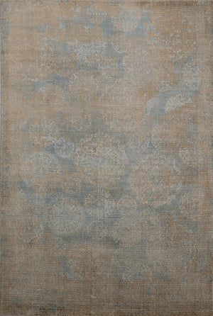"5'3"" X 7'7"" Organic Wool Faded Area Rug≡Distressed Oriental Living Room Rug ≡Vintage antique Rug ≡ Kitchen Rug ≡ Turkish Faded Rug  DN14453"