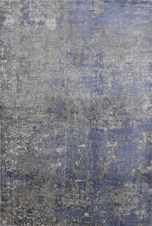 "5'3""X7'7""  Blue Distressed New Rug ≡ Large Distressed Faded Turkish Rug≡ Rustic antique Decor ≡Moroccan Carpets ≡Nomadic Carpet  DN31016"