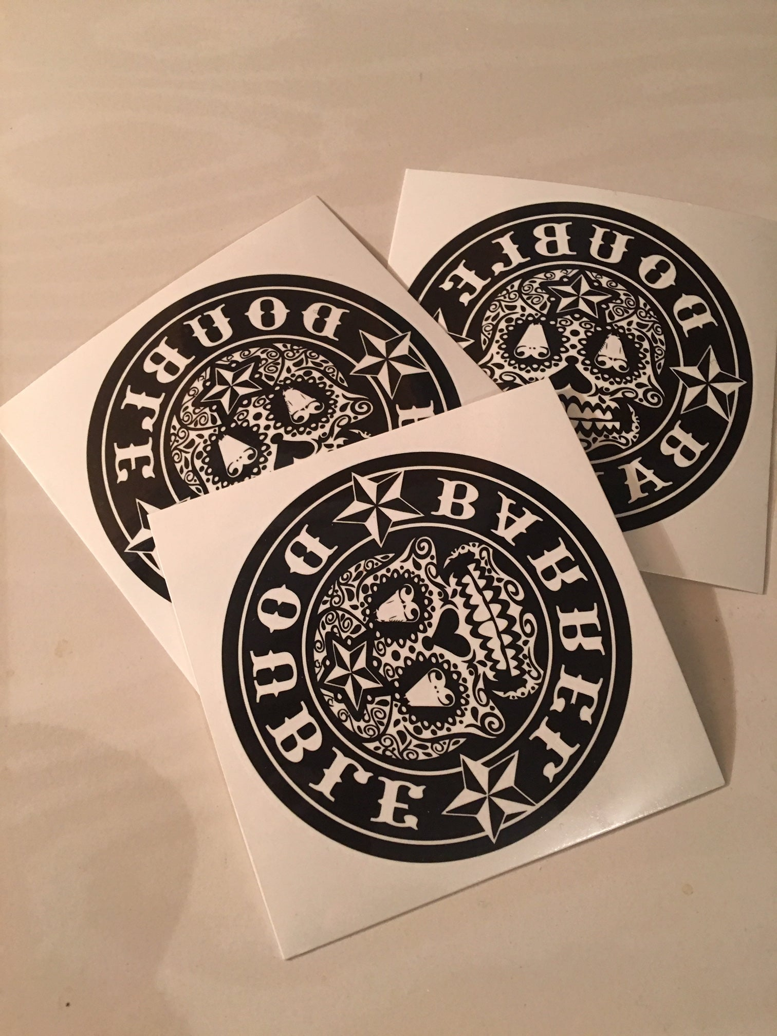SUGAR SKULL TEMP TATTOO PACK