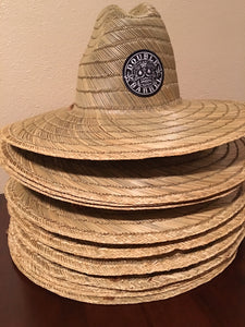 Double Barrel Lifeguard Hat (Straw)