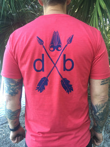 Double Barrel Mens Arrows tee