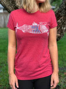 Womans El Capitan Tee (RED)
