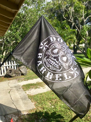 Double Barrel Battle Flag