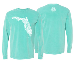 Womans State of Florida L/S tee