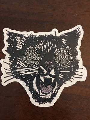 PET THE KITTY/ Large 4inch Sticker