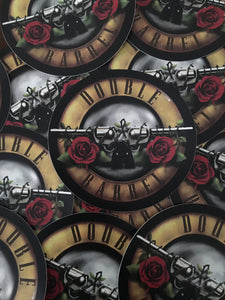 GnR Double Barrel 4inch Sticker