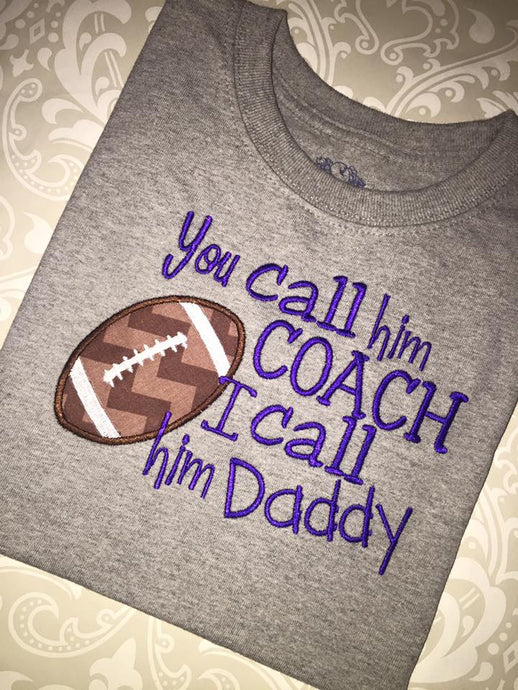 You call him coach I call him daddy tee