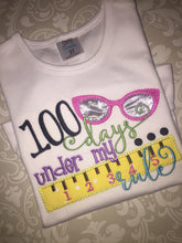 100 days of school ruffle tee