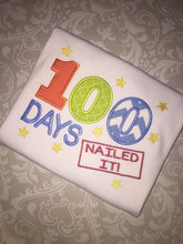 100 days nailed it school tee
