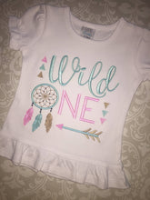Wild One first birthday tee
