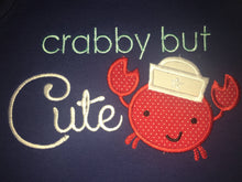 Crabby but cute bubble romper