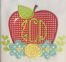Monogram Apple Back to school outfit