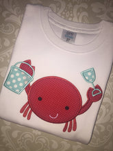 Crab twins boy girl bodysuit or tee