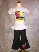 Applique Back to school outfit