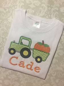 Monogram Pumpkin tactor tee