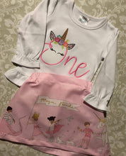 Unicorn One first Birthday outfit or tee