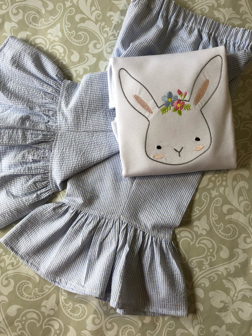 Girl's Easter bunny  outfit